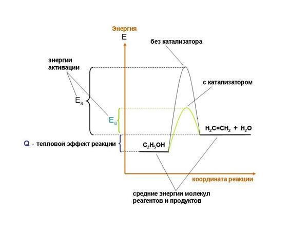 Гетерогенный катализатор схема